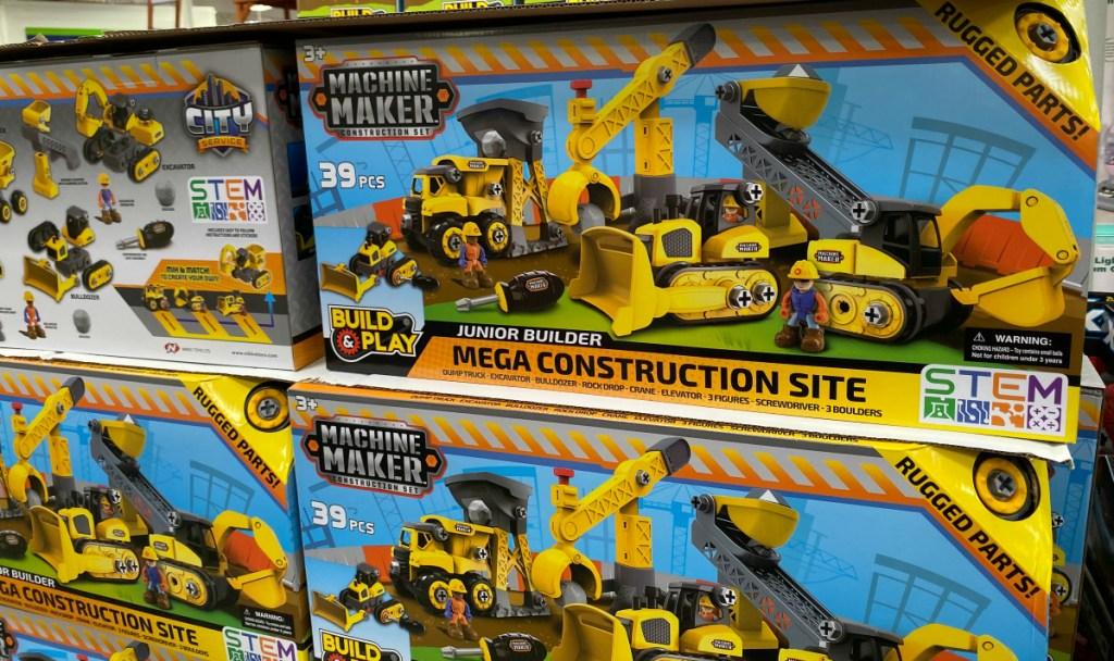 Club Pack 39-Piece Machine Maker Construction Site