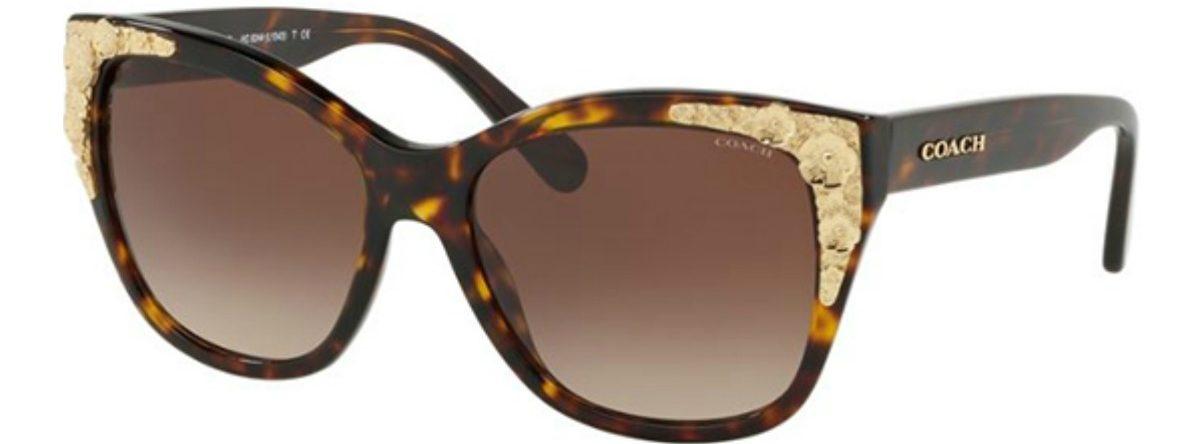 Coach Sunglasses Tortoise