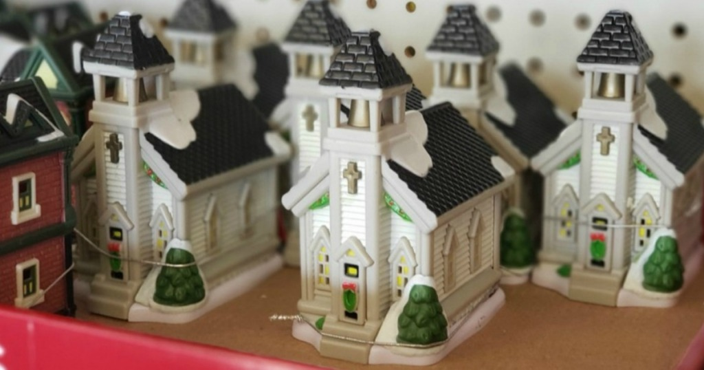 small Church figurines