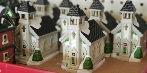 Christmas Village 27-Piece Set Just $13 on DollarTree.com + Free Store Pickup