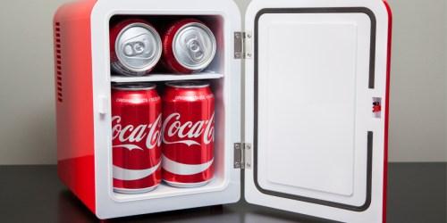 6 Can Personal Mini Fridge Just $29 at Walmart | Coke, Fanta & More