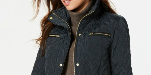 Cole Haan Women's Quilted Anorak Only $49.99 at Zulily (Regularly $220)