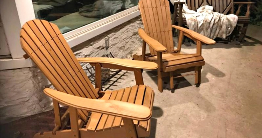 Peachy Reclining Adirondack Chair W Pull Out Ottoman Only 33 Cjindustries Chair Design For Home Cjindustriesco