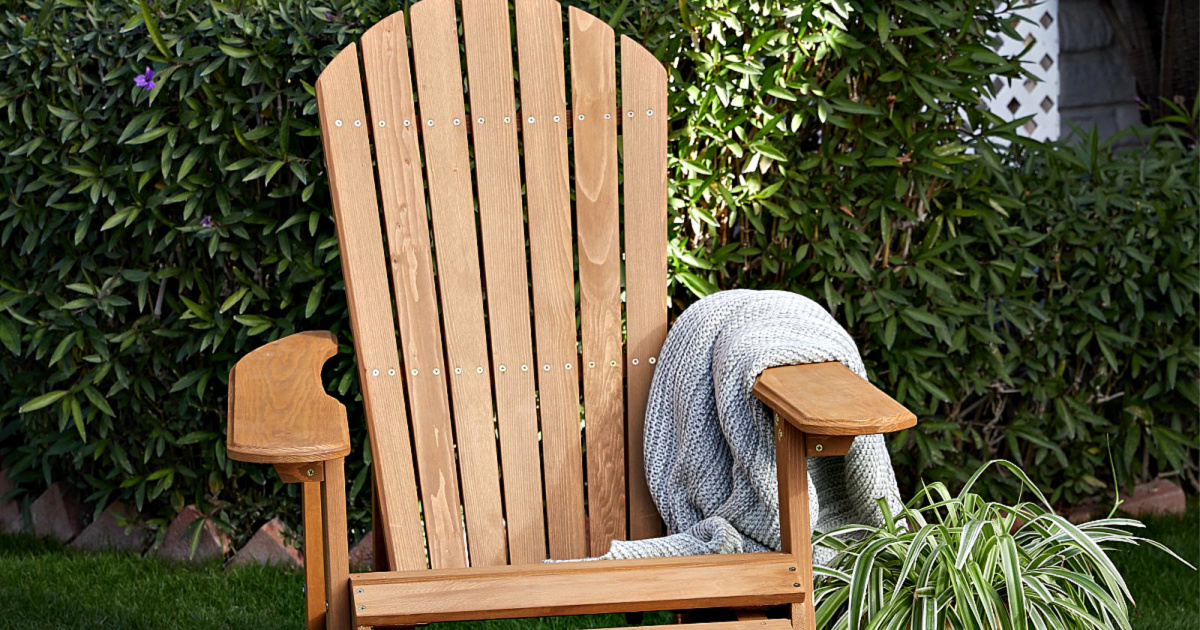 Incredible Reclining Adirondack Chair W Pull Out Ottoman Only 33 Cjindustries Chair Design For Home Cjindustriesco