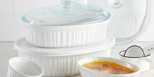 Corningware Bakeware 10-Piece Set Only $29.99 Shipped on Macy's.com (Regularly $80)