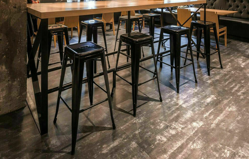 Counter Stools by table