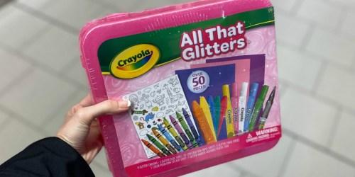 Crayola Activity Travel Kits Only $8.99 at ALDI