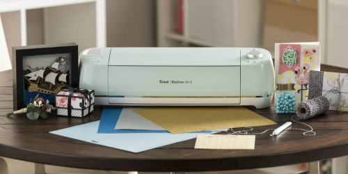 Cricut Explore Air 2 Machine from $179.99 Shipped + Bulk Vinyl from $5.44 Per Roll (Regularly $30)