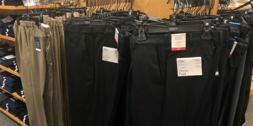 Croft & Barrow Men's Dress Pants Only $12.74 at Kohl's (Regularly $20)