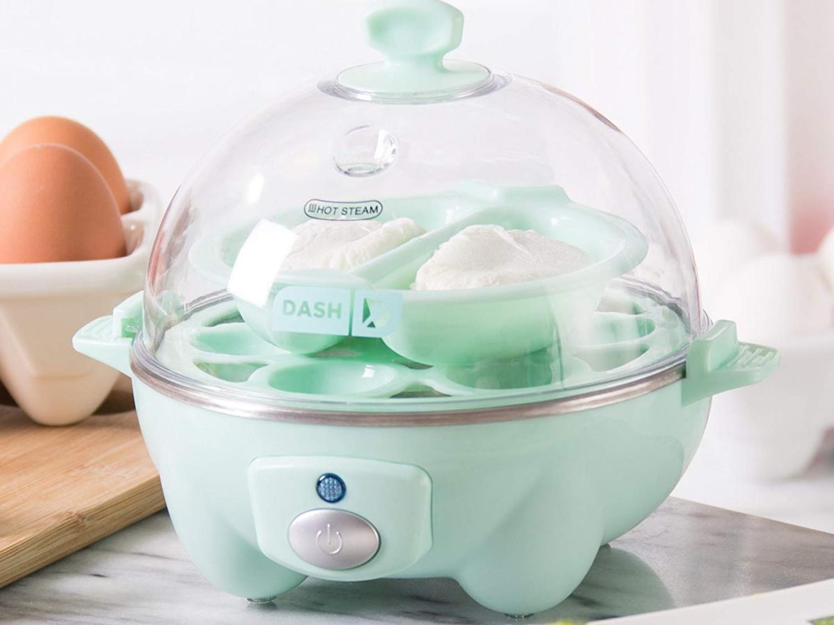 Dash Egg cooker teal 6 count