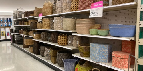 25% Off Decorative Storage at Target | Threshold, Opalhouse & More