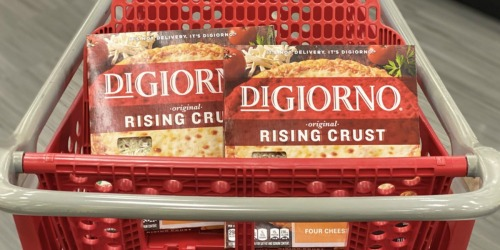 DiGiorno Pizzas Only $2 After Cash Back at Target