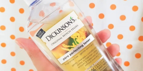 Dickinson's Original Witch Hazel Pore Perfecting Toner Only $2.84 Shipped at Amazon (Regularly $8)