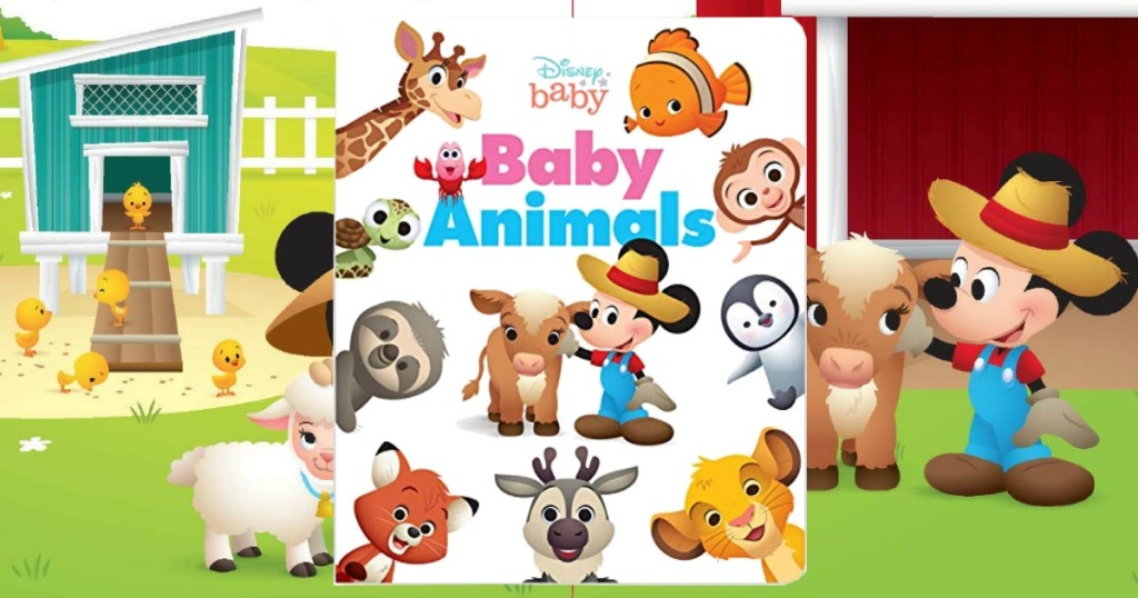 Disney Baby Animals Board Book