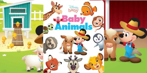 Disney Baby Animals Board Book Only $3.99 at Amazon