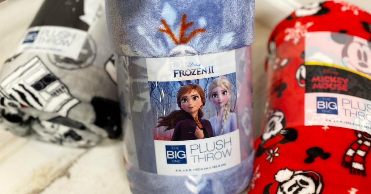 Disney Frozen 2-themed blanket from Kohl's