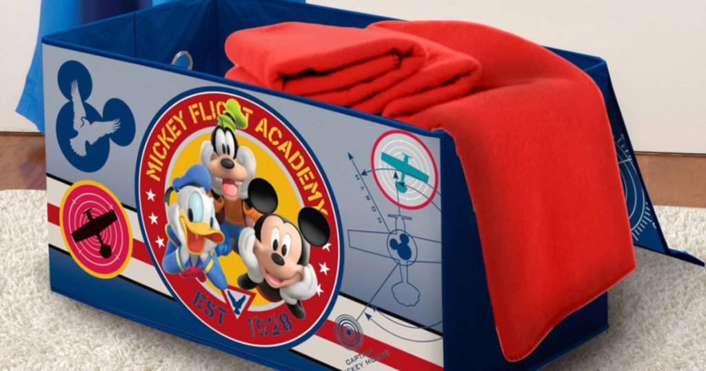 disney mickey kids toy trunk