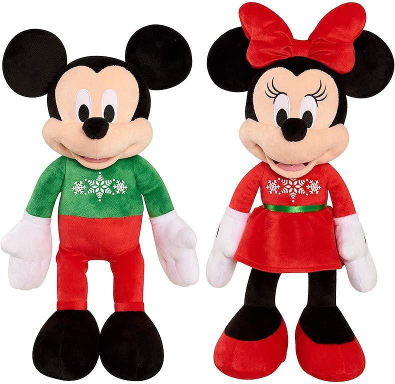 Disney Mickey and Minnie Holiday Plush