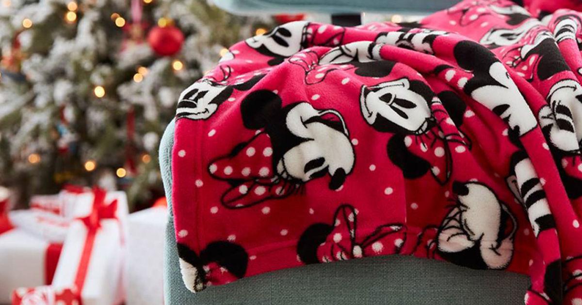 Disney Minnie Mouse Throw Blanket