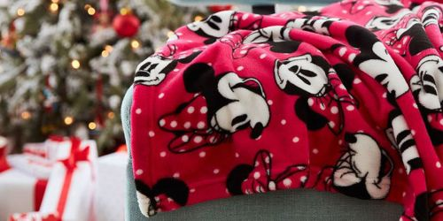 shopDisney Black Friday Deals are Here   Personalized Throw Blankets Just $13 Shipped + More