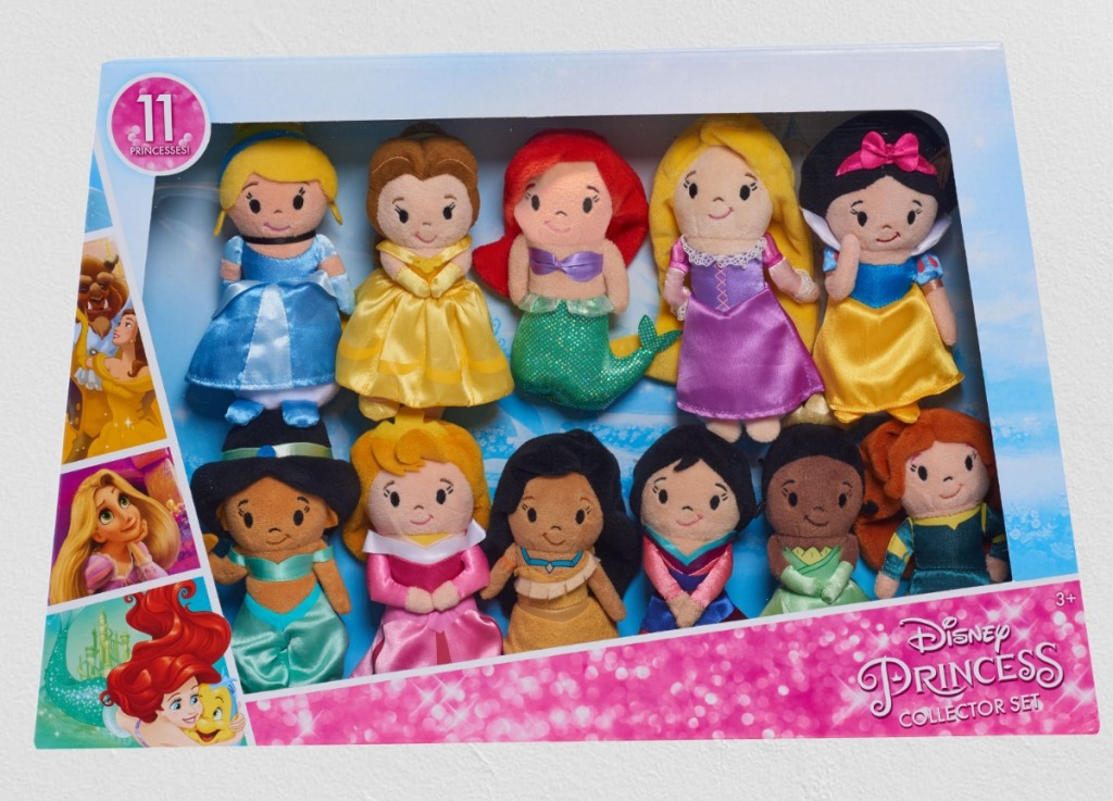Disney Princess plush collection in package
