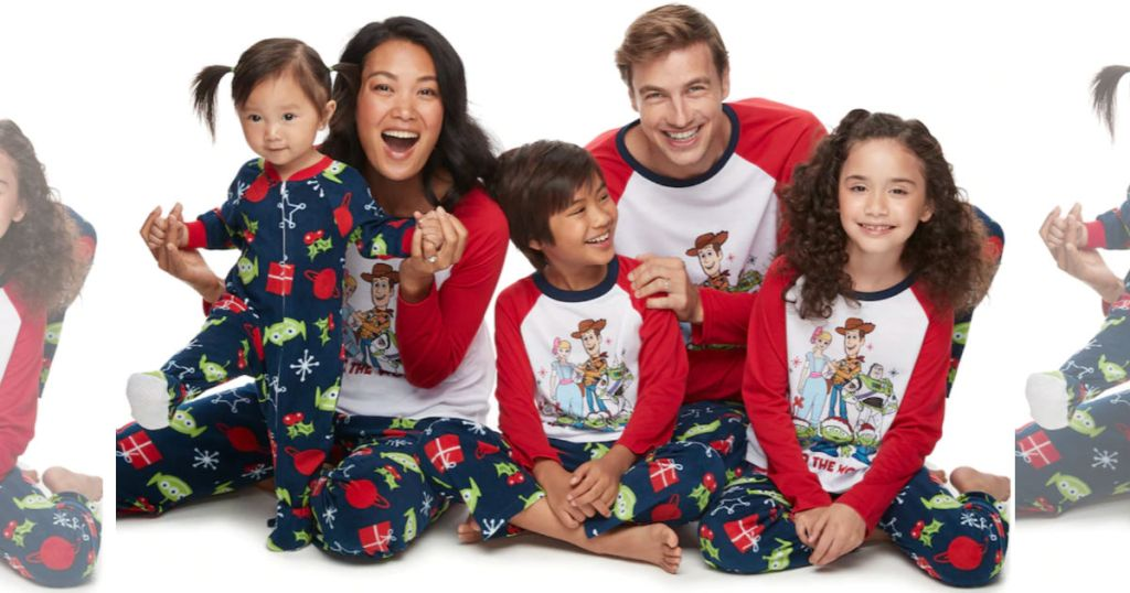 """Disney / Pixar's Toy Story 4 """"Toy to the World"""" Pajamas by Jammies For Your Families"""