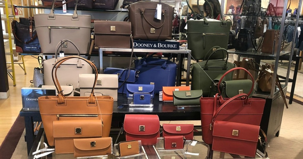 Dooney and Bourke bags and wallets