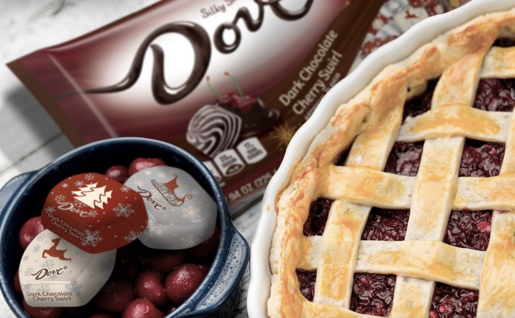 Dove Dark Chocolate Cherry Swirls