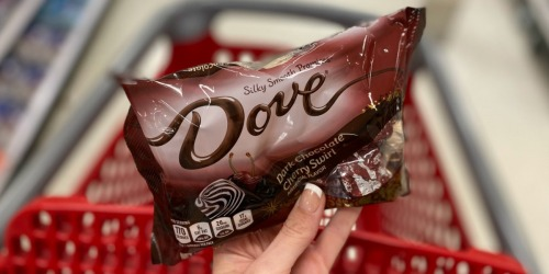 Dove Promises Dark Chocolate Cherry Swirl Candy is Back & Available Exclusively at Target