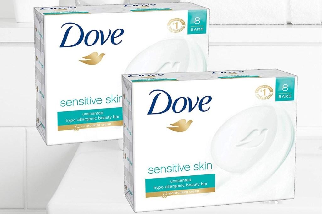 Dove Sensitive Skin Bars