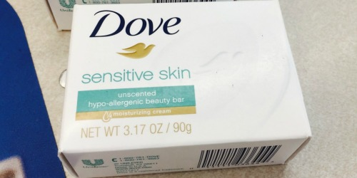 Dove Bar Soap 16-Pack Just $12.99 on Amazon (Only 81¢ Per Bar)