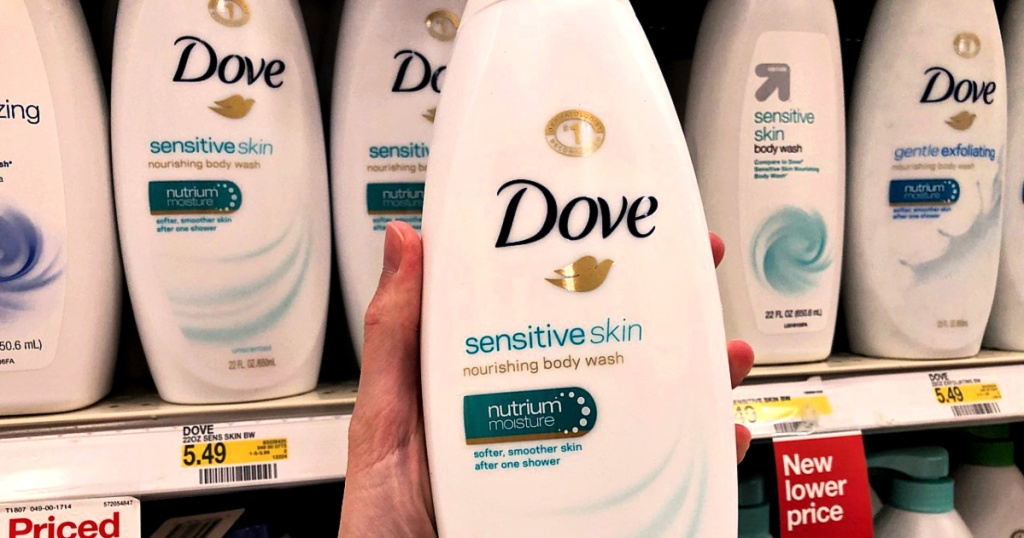 Dove Sensitve Skin Body Wash