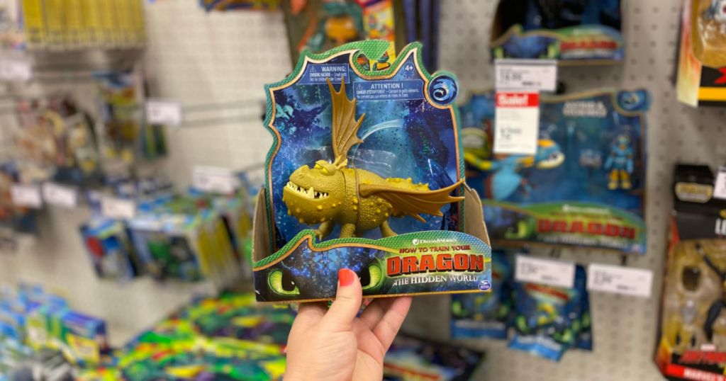 DreamWorks Dragons Meatlug Dragon Figure with Moving Parts at target