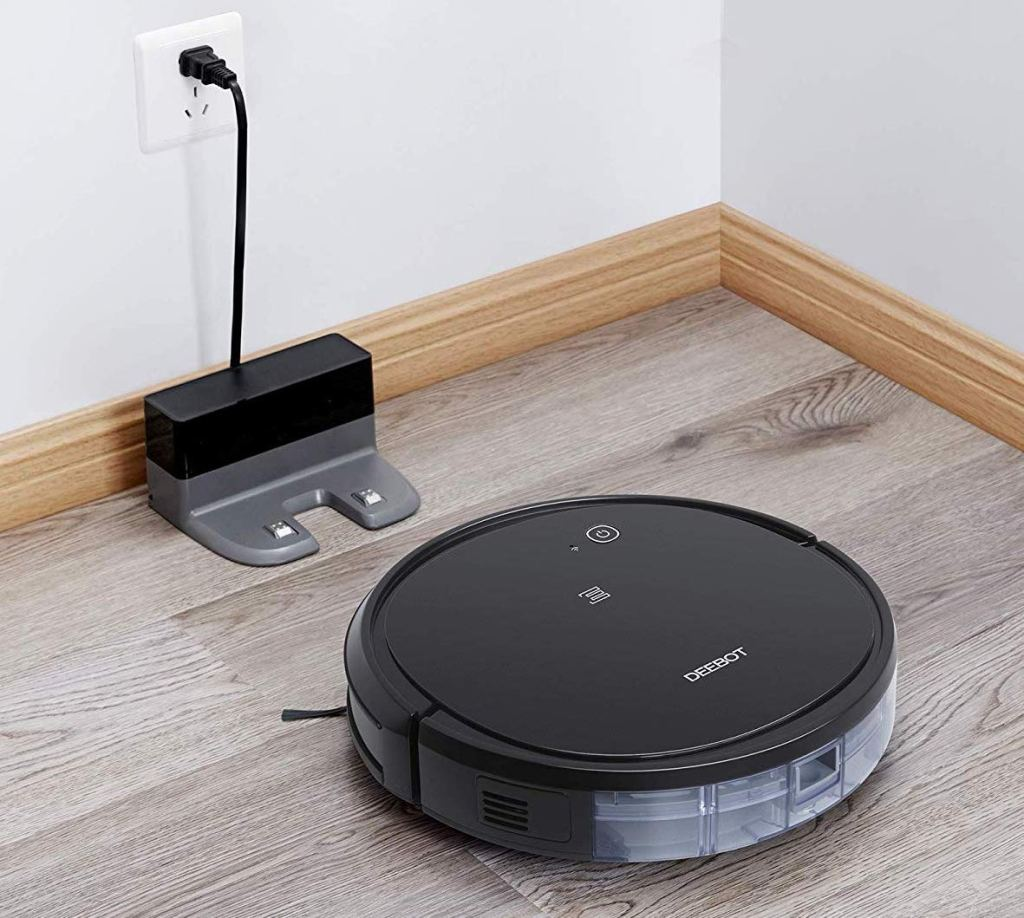 Ecovacs Deebot and charger