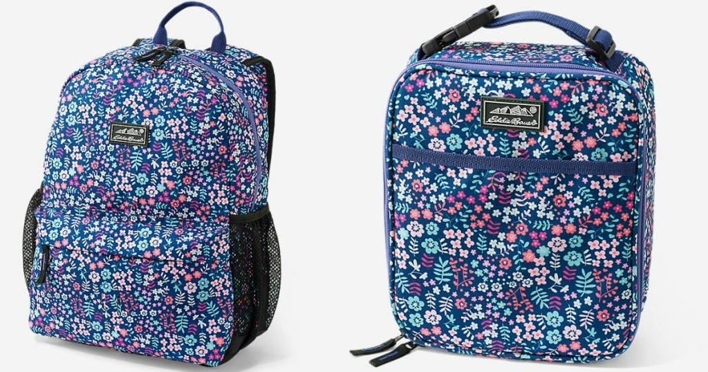 Eddie Bauer Backpack and Lunch Box