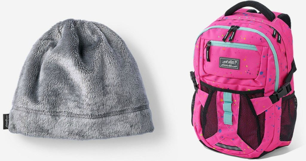 Eddie Bauer Hat and Backpack