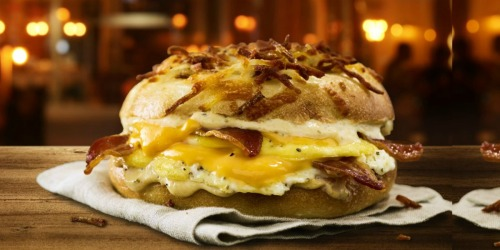 FREE Einstein Bros. Bagels All-Nighter Breakfast Sandwich | Claim at 11:59 PM Tonight ONLY