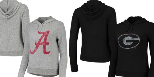 NCAA Women's Drawstring Hoodies Only $14.99 at Zulily