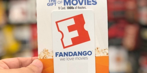 FREE $15 FandangoNOW eGift Card w/ Fandango Gift Card Purchase