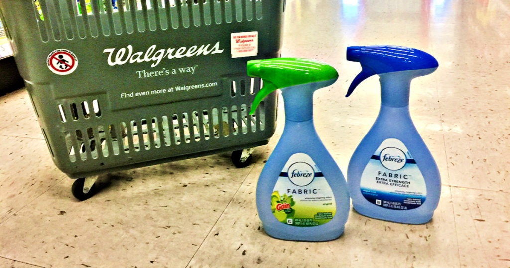 Febreze Fabric Air Fresheners at Walgreens