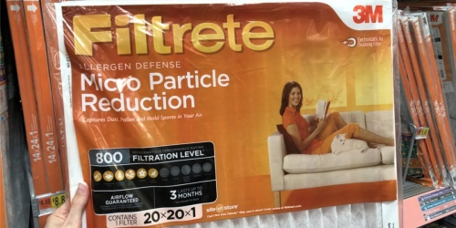 Filtrete Air Filter 3-Packs Only $11 Each at Walmart.com (After Mail-in Rebate)