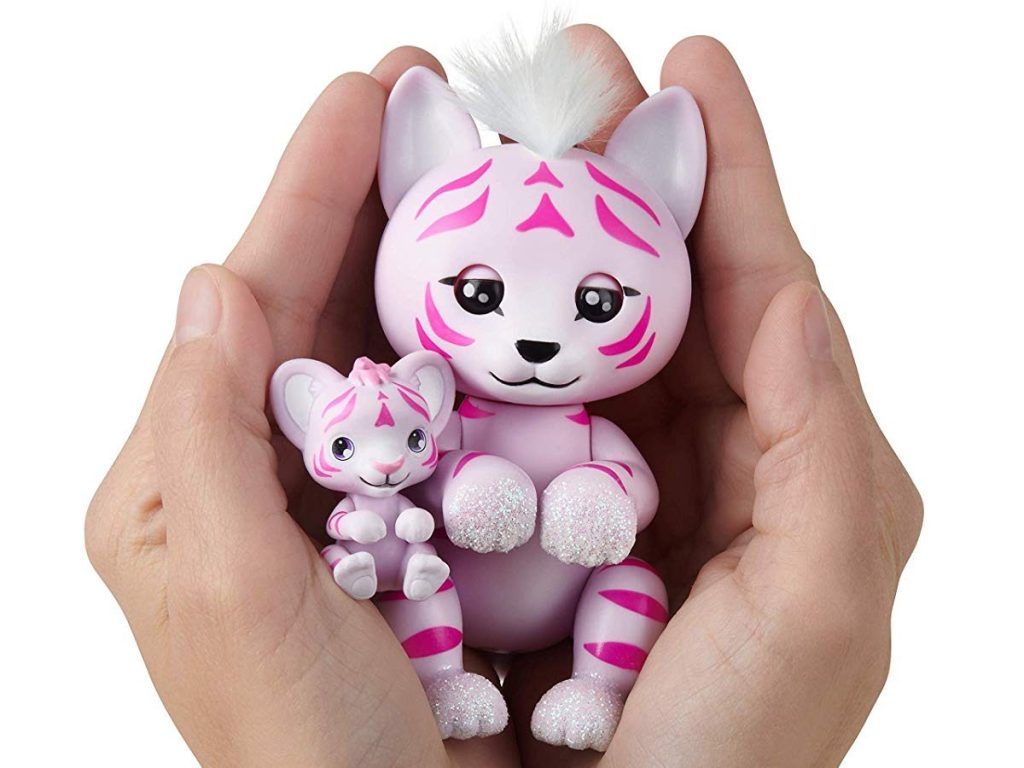 Fingerlings Light-Up Baby Tiger and Mini