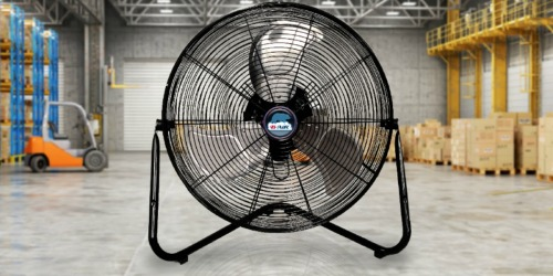 High Velocity Industrial & Home Floor Fan Only $27.92 Shipped on Amazon (Regularly $43)