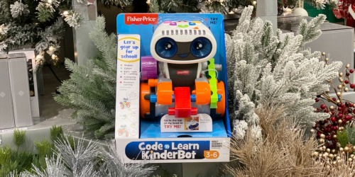 Fisher-Price Code 'n Learn Kinderbot Only $28.79 Shipped at Target (Regularly $66)