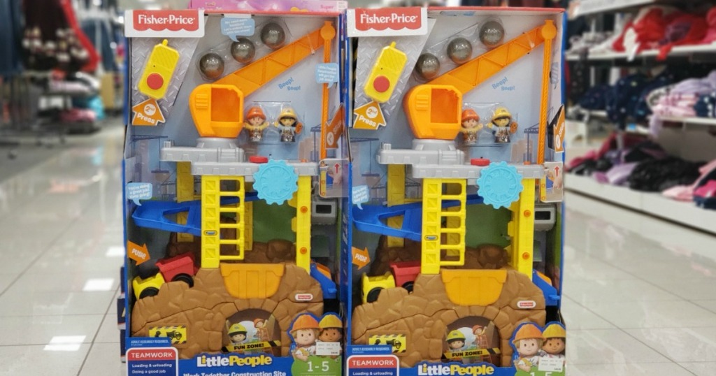 Fisher-Price Little People Construction Set