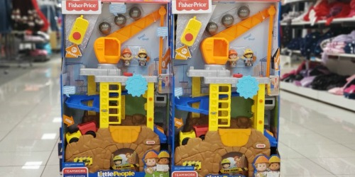 Fisher-Price Little People Construction Site Only $24.99 at Kohl's (Regularly $50) | Black Friday Price