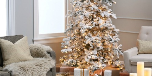 Pop-Up Christmas Trees as Low as $39.99 at Zulily | Make Holiday Decorating a Breeze