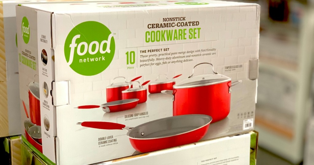 Food Network Ceramic Cookware
