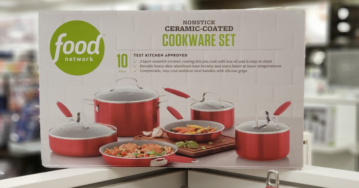 Food Network Cookware Set