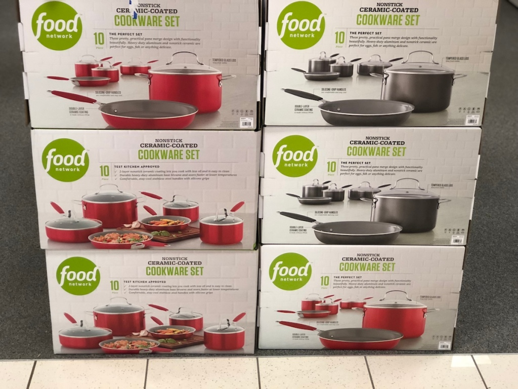 Food Network Cookware Sets